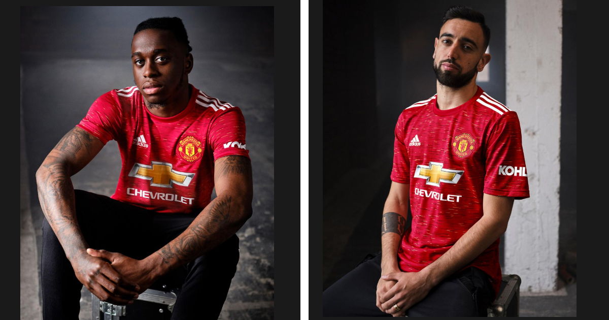 Official Man United Reveal Adidas Home Kit For 2020 21
