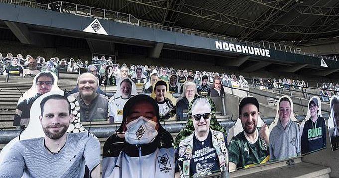 Borussia Monchengladbach fans have a hilarious idea to make stadiums seem full once Bundesliga resumes - logo