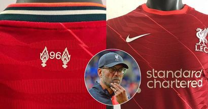 New 'leaked' images of Liverpool's 2021/22 home kit