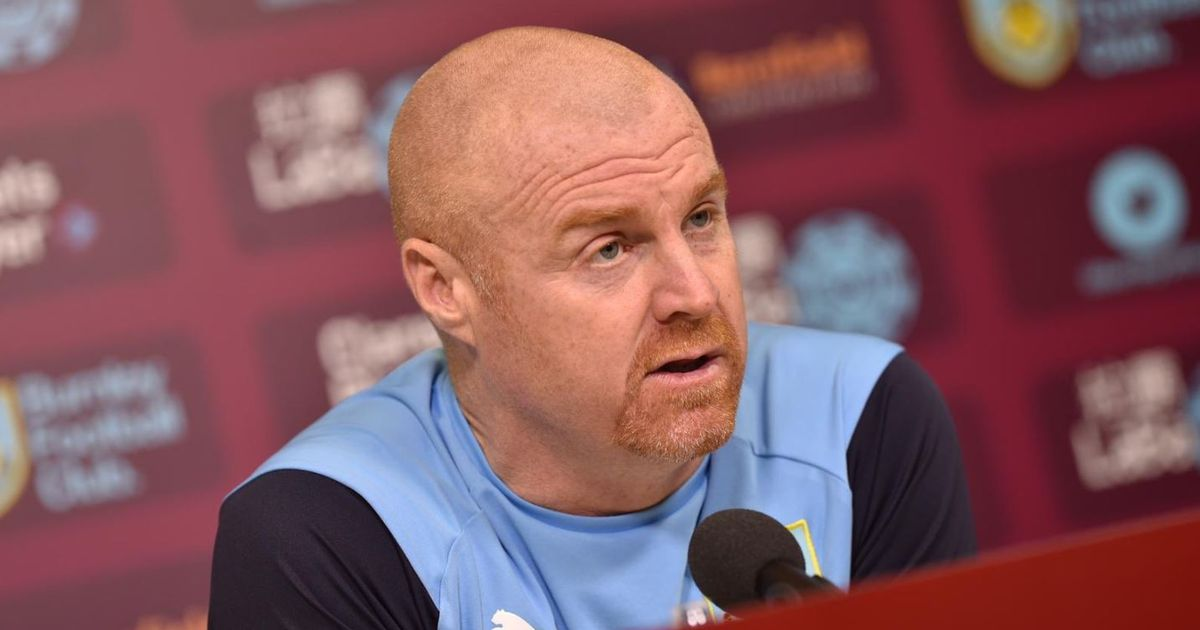 Burnley could be missing up to 9 first-team players for Man United clash, Sean Dyche confirms