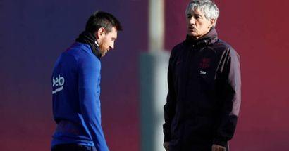 Setién aviva más el fuego: 'Messi tiene razón en cosas, en otras no'