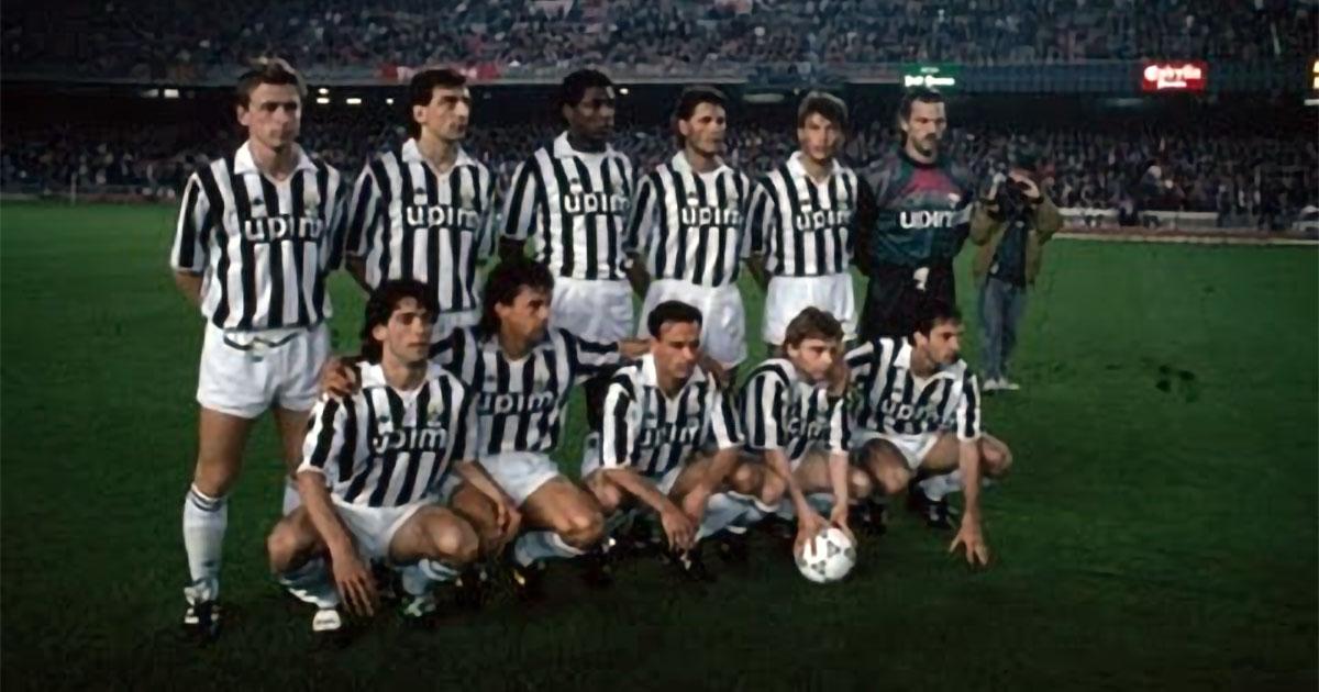 Viaggio nella storia: Juventus 1- 0 Barça anno 1991: quanti giocatori riuscite a riconoscere?