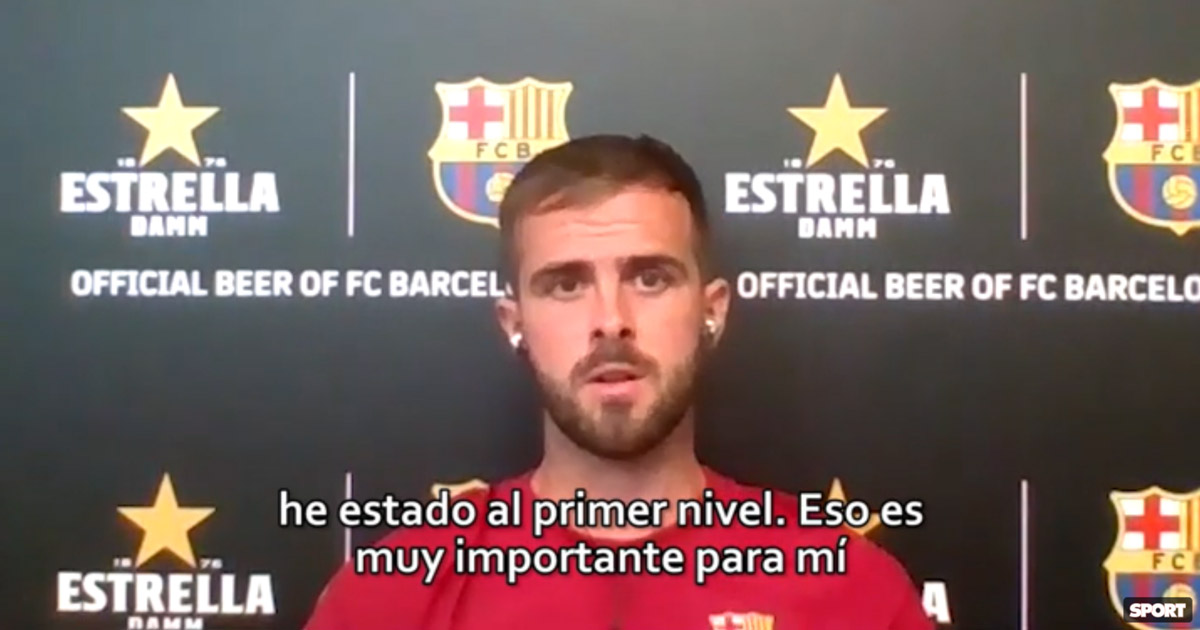 Pjanic reveals it took Barca four times to sign him during his career