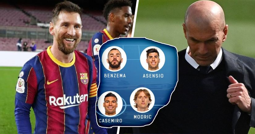 How Real Madrid might line up for El Clasico based on Liverpool win - logo