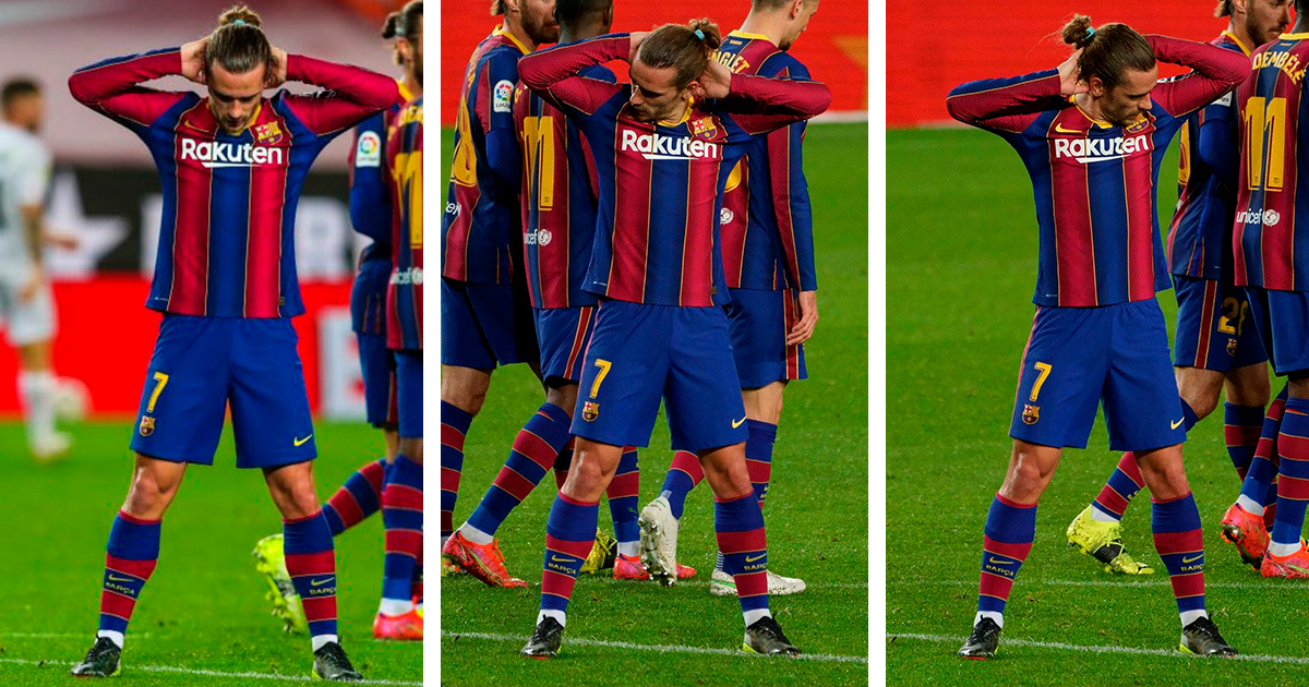 Who Did Griezmann Dedicate His Goal Celebration Vs Huesca To 1 Minute Explainer