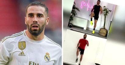 "Dani Carvajal in ""spektakulärer Form"" während der Quarantäne dank des berühmten spanischen Fitnesstrainers"
