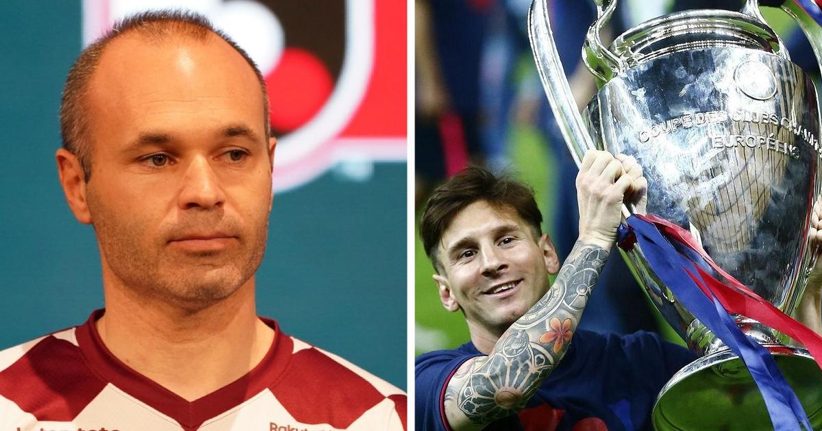 """Inesta: """"Barselona"""" Messi bilan Chempionlar Ligasini ko'proq yutishi kerak edi"""""""