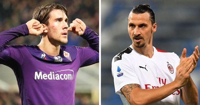 Vlahovic riserva di Ibrahimovic? Il Milan non molla la presa per il serbo e osserva attentamente l'evolversi della situazione - logo