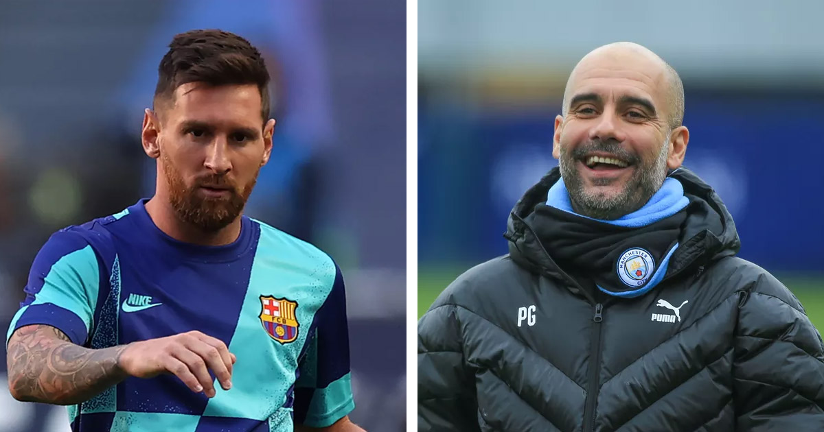 Source: Messi wants to play for Pep Guardiola Manchester City