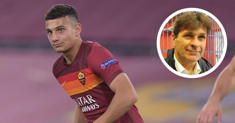 """""""Milanese non è ancora un talento"""", Nando Orsi frena l'entusiasmo sul giovane centrocampista della Roma - logo"""