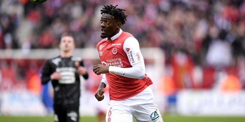 Le défenseur central de Reims courtisé par l'OM, Axel Disasi, a choisi de rejoindre l'AS Monaco - logo