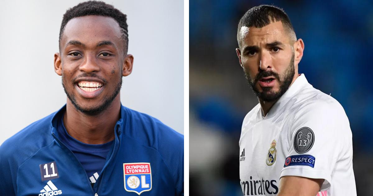 Kadewere, figura del Lyon a Benzema: 'Ojalá algún día podamos jugar juntos'