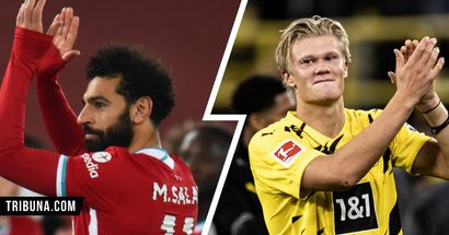 Salah in 12th, tied with Haaland: 2021 European Golden Boot ranking as it stands