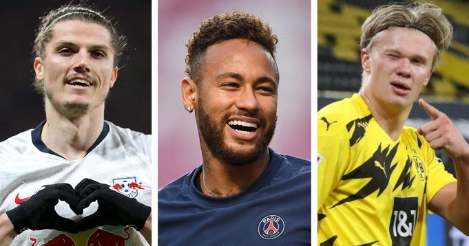 Haaland, Neymar, Sabitzer et 9 autres grands noms dans le dernier tour d'horizon des transferts européens