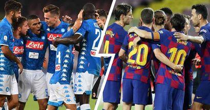 Barcelona vs Napoli: line-ups, score predictions, head-to-head record & more — preview