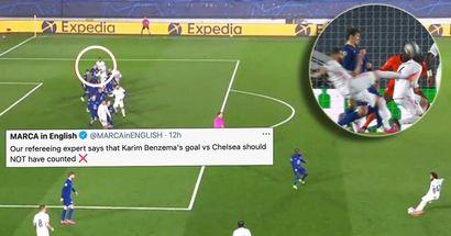 Le journal pro-Madrid MARCA affirme que le but du Real Madrid contre Chelsea était illégal, publication de l'explication d'un expert