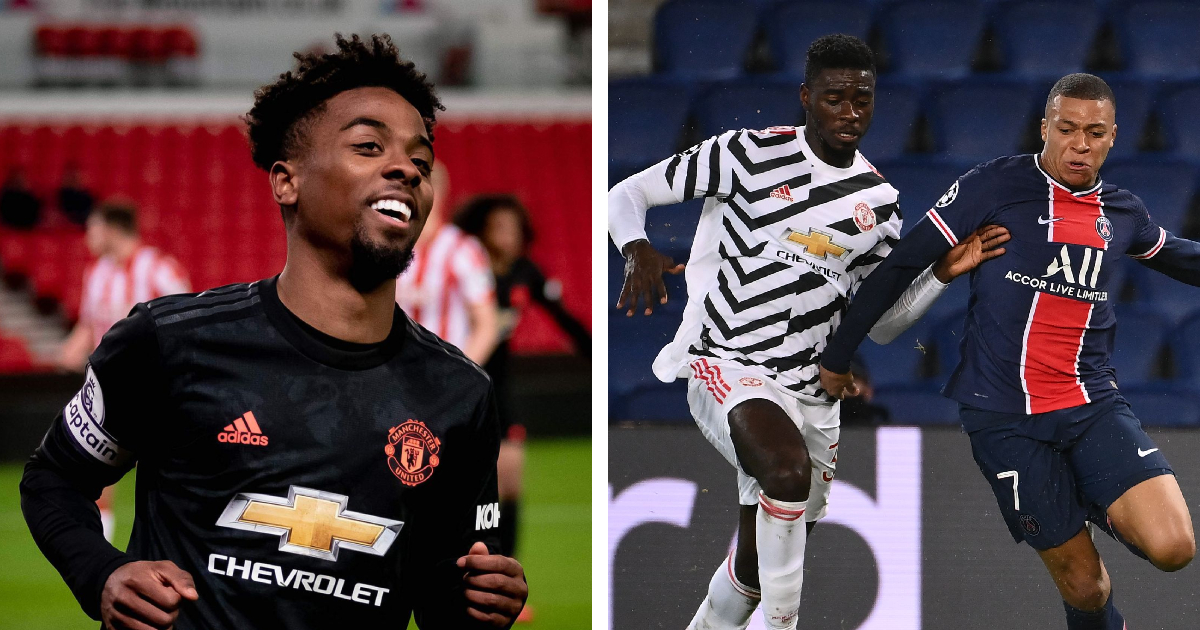 Angel Gomes' two-word reaction says everything about Tuanzebe's brilliant show in PSG victory