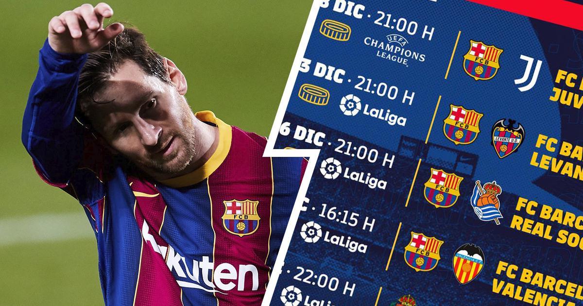 La esperada batalla Messi-Cristiano, el encuentro ante el Valencia y más: los partidos restantes del Barça del 2020