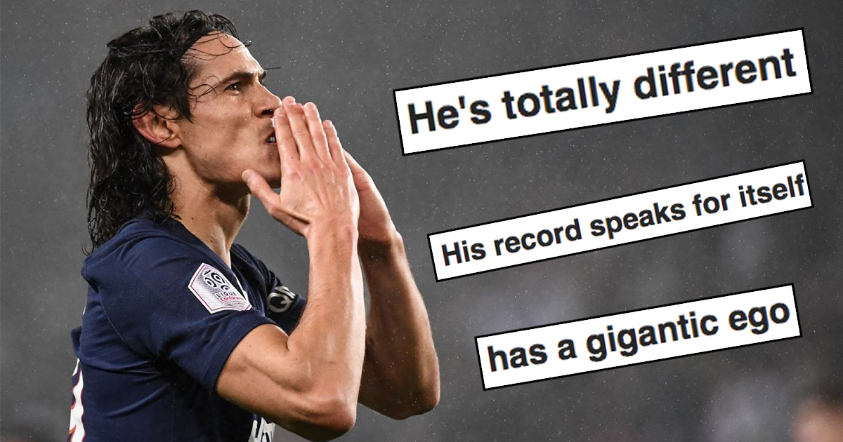 Significant upgrade on Ighalo', 'Has a gigantic ego': Global United  community reacts to Cavani news