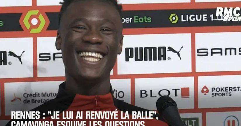 Camavinga vierte agua fría sobre el Real Madrid mientras jura lealtad públicamente al Rennes - logo