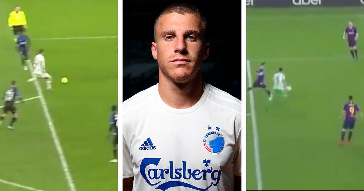 """""""Que faire de Messi? Nous avons Pepsi! '': Le milieu de terrain de Copenhague marque un but similaire à la frappe emblématique de Leo contre le Betis (vidéo)"""