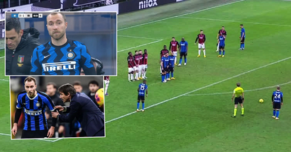 Conte kept humiliating Eriksen – Christian responded with insane free-kick to win Milano Derby