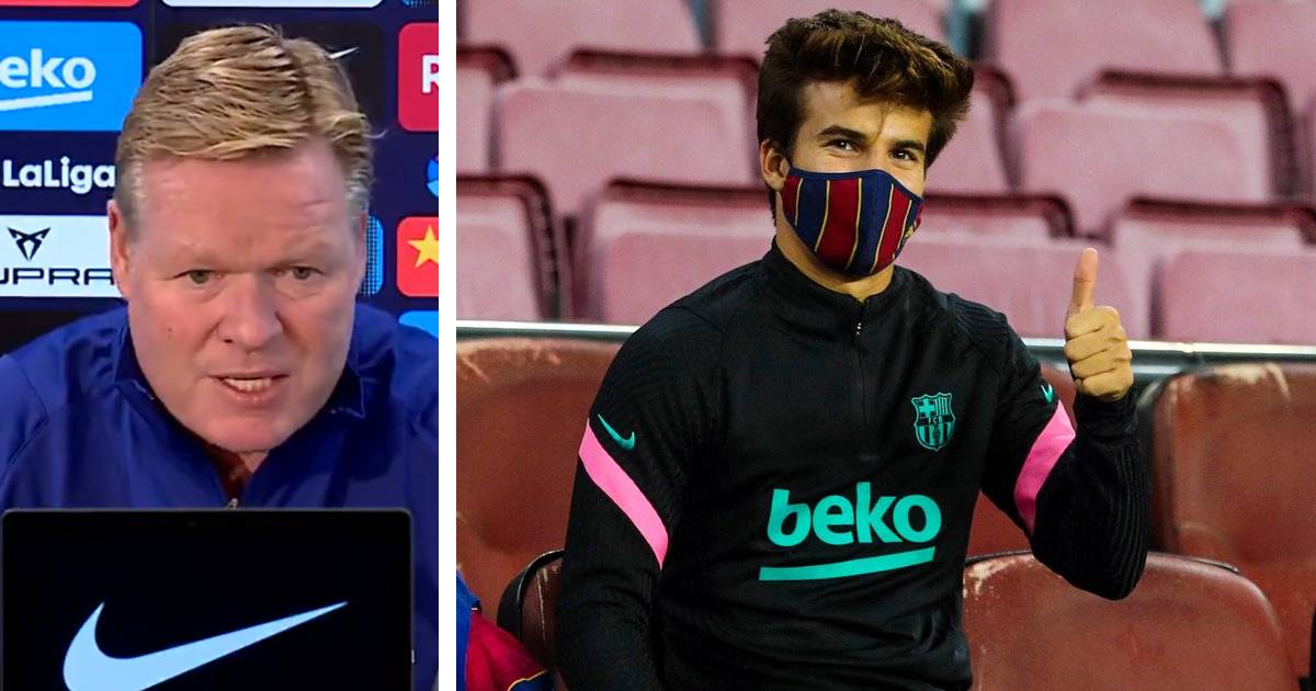 Ronald Koeman gives Riqui Puig some hope after series lack of game time