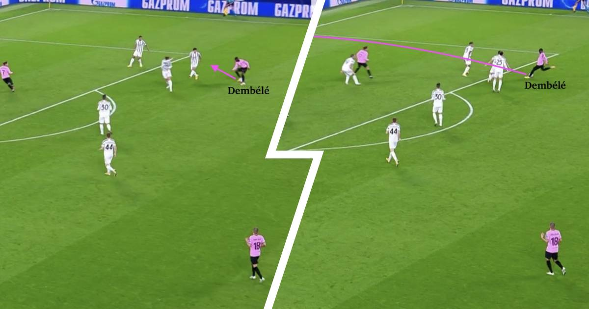 Ousmane Dembele's unique quality makes him dangerous and unpredictable: explained in 4 pictures