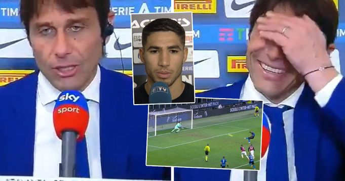 Antonio Conte: 'Hakimi is w * * at penalties, everyone must die before he takes one for Inter'