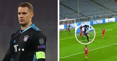 Manuel Neuer: Kein Skorpion-Kick, aber auch überraschend