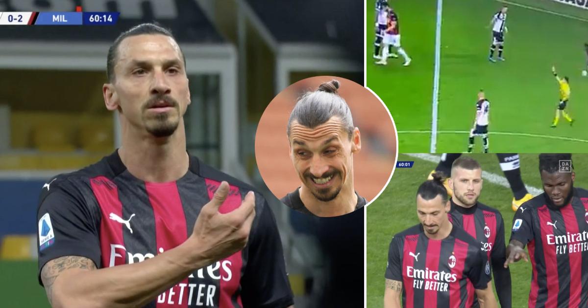 Worte, die zu Zlatan Ibrahimovics bizarrer roter Karte führten, wurden enthüllt