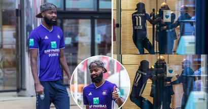 Belgian player tries to force move, arrives to training in rival clubs shirt
