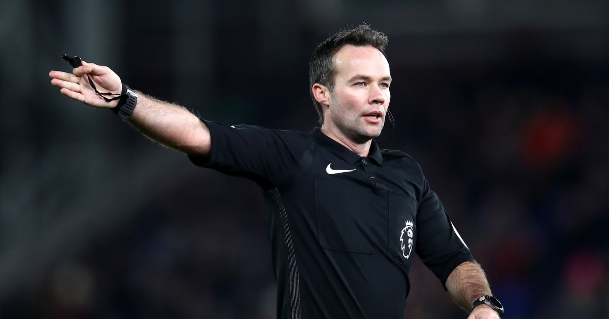 Referee for West Ham Premier League clash appointed