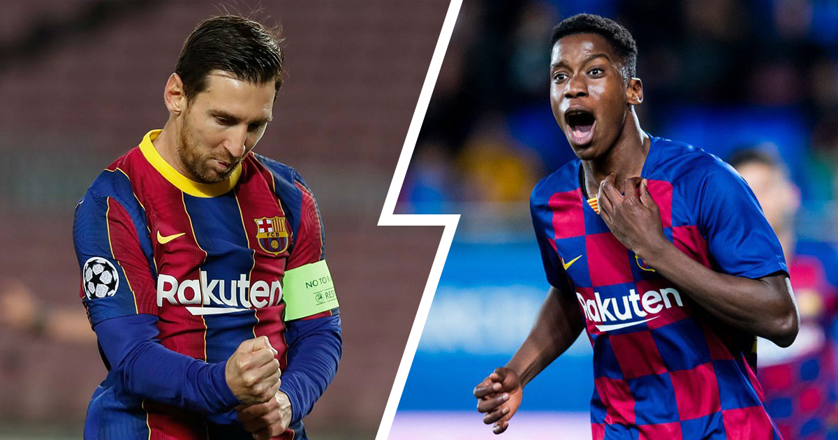 Barcelona next president to make Messi and Ilaix Moriba new contracts their priority