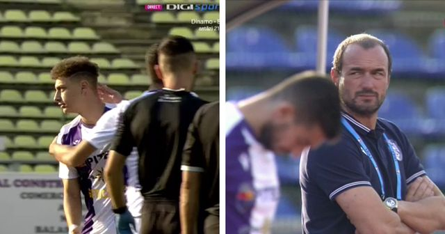 Romanian head coach subs off youngster on 1st minute for 3 games in row