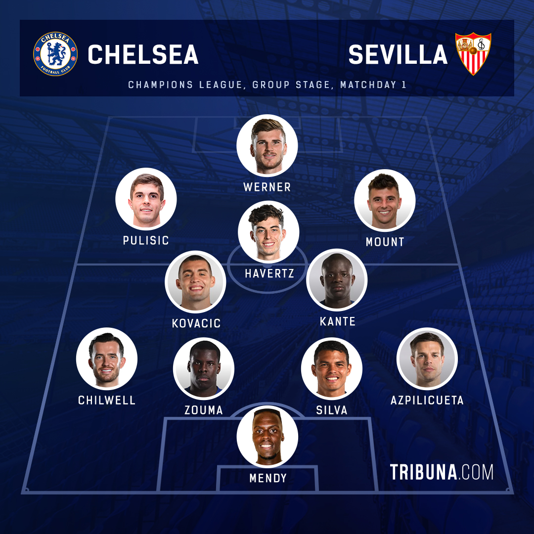 Chelsea Vs Sevilla Line Ups Score Predictions Key Stats More Preview