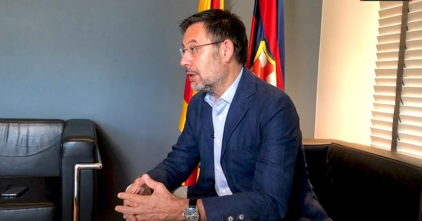 Bartomeu claims it would  be 'irresponsible' to hold elections earlier than planned - logo
