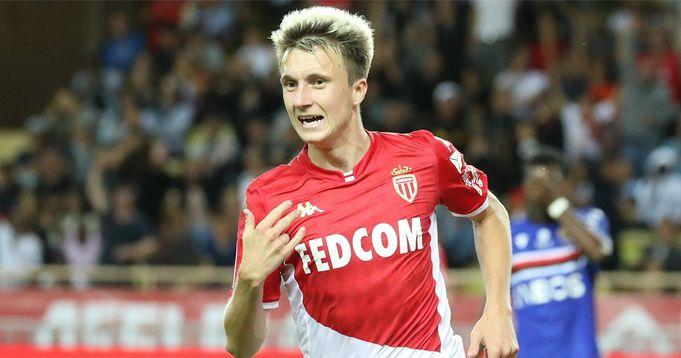 Un intérêt du PSG pour Aleksandr Golovin, milieu offensif de l'AS Monaco, confirmé par l'agent du joueur - logo