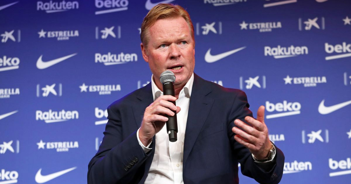 Barca boss Koeman has list 5 positions he wants to strengthen this transfer window
