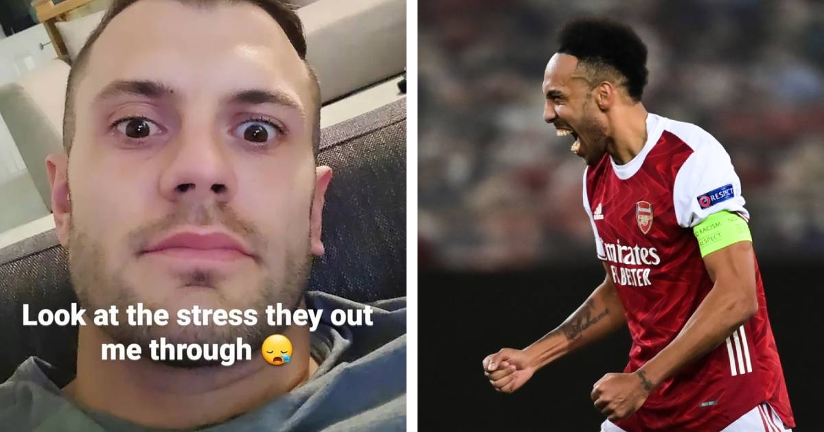'Look at the stress they put me through!' Jacky Wilshere is every one of us after Benfica tie
