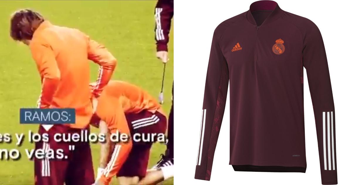 Sergio Ramos hates 'colours and priest's necks' of Madrid's new training kit