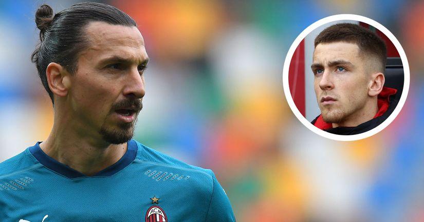 """""""Il mio modello? Facile, ce l'ho davanti tutti i giorni!"""": Saelemaekers stravede per Zlatan Ibrahimovic - logo"""