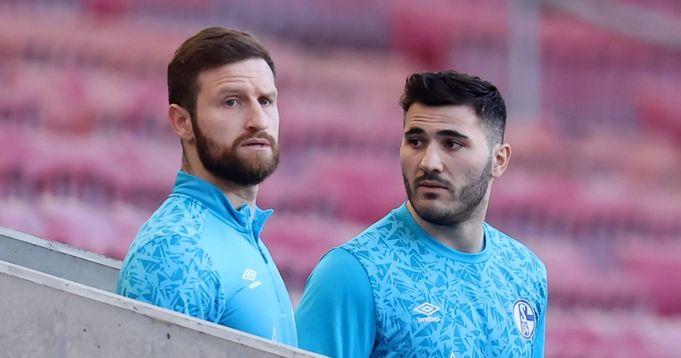 Ông chủ bị sa thải của Schalke tiếc nuối khi ký hợp đồng với Mustafi, Kolasinac khi họ được cho là đã dẫn đầu cuộc nổi dậy chống lại anh ta - logo