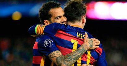 Dani Alves da con la clave: 'A Messi le falta estar arropado'