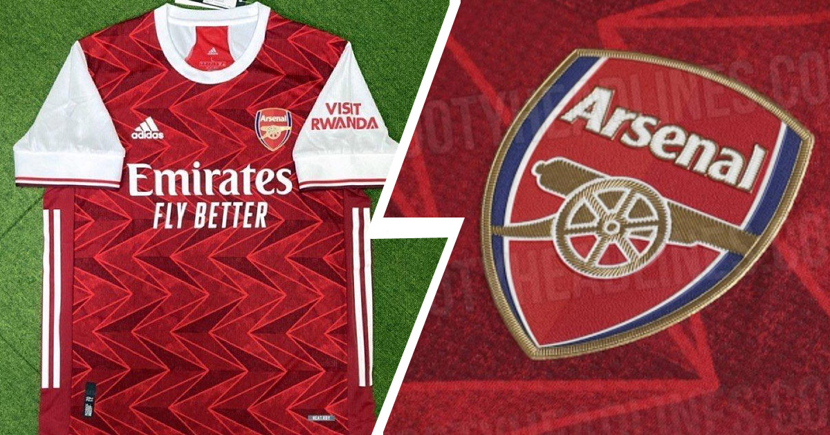 Arsenal 20 21 Home Kit Leaked Featuring New Arrow Pattern