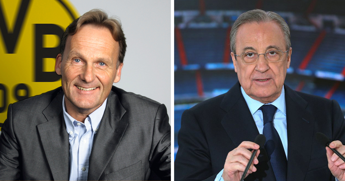 All eyes on Haaland? Florentino Perez congratulates Borussia ...