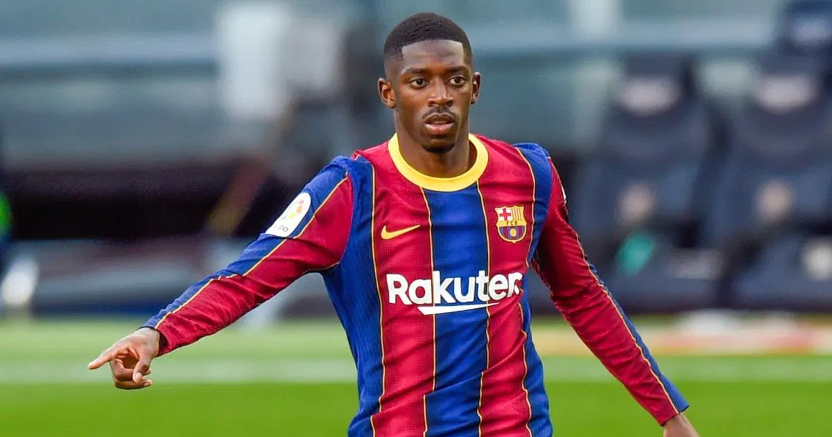 Barcelona looking to extend Dembele's deal, Ousmane in no hurry (reliability: 5 stars)