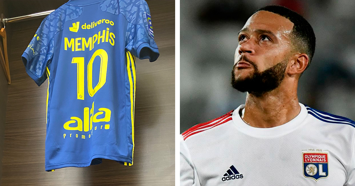 Depay deal off? Memphis to wear Lyon's No. 10 for first time ever