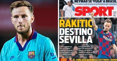Rakitic will in Spanien bleiben und ist bereit, Sevilla beizutreten