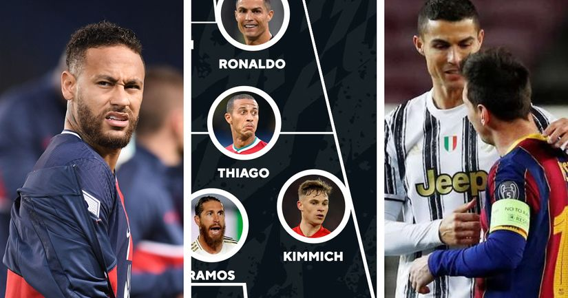 UEFA's Team of the Year as voted by fans has been announced - logo